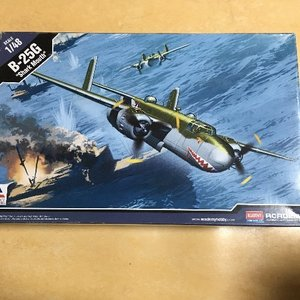 "ACADEMY B-25G "" Shark Mouth"" 샤크 마우스"